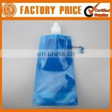 Promotion Logo Custom BPA Free Plastic Collapsible Water Bottle