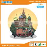 New Style MOCKBA Souvenir Custom Polyresin Plate Tray For Sale