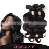 Famous brand Chocolate hot in Africa Chocolate human hair extensions/Brazilian human hair extension