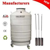 China liquid nitrogen dewar 100L with cover price in GM