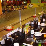 Fpr Rotary Sushi Buffet Restaurant Stainless Steel Hot Pot Conveyor Belt With Dark Black Color