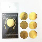 Hot - selling 24K gold double pattern radiation protection phone with radiation shielding stickers