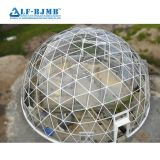 Best Price Prefabricated Waterproof Light Steel Frame Modular building Glass Dome Skylight Roof Construction Glass Atrium Roof