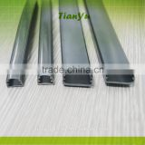 pvc transparent strip pmma cover/light reflector for strip lgith and led tubes/chrismas light reflector