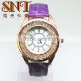 SNT LE191E Cheap fashion nice leather watch