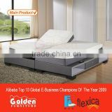 Adjustable Bed Single King Single Memory Mattress Electric Lift Motorize Massage Bed