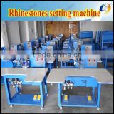 semi-automatic rhinestones setting machine, hotfix rhinestones machine