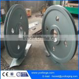 Wheels Lifting Rope Pulley Cable Block