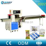 Software Control Wet Tissue / Paper Napkin Packing Machine