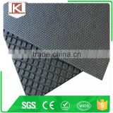 Flat ribbed barn dairy stable cow mat