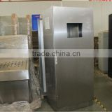 distribution box type outdoor stainless steel cabinet with hinge low price OEM CE certificate