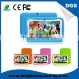 Hot Sale rugged 7 inch android 4.4 Children learning computer machines super smart tablet pc