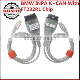 For BMW From 1998 To 2008 best price for bmw inpa k dcan ediabas obd2 diagnostic interface with best price