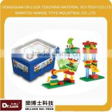 Educational aid with164pcs blocks Playful Machinery