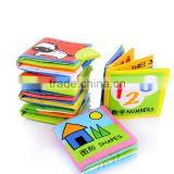 Educational Baby Toy Cloth Book/Fabric Book/Fabric Book