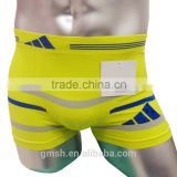 Newest seamless underwear 92% polyester 8% spandex mens cheapest boxer shorts providing free sample
