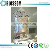 factory wholesale antique engraved decorative mirror bedside tables                                                                                                         Supplier's Choice