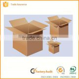 Widely used 100% recycle low price foldable printed custom corrugated cardboard box                                                                                                         Supplier's Choice