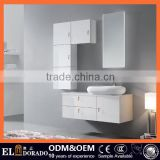 Hot sale moisture-resistant wooden waterproof High end MDF bathroom vanity cabinet Made in factory