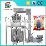 China Supplier Vertical Plastic Bag Packing Peanuts Machine
