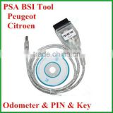 Top Quality Newly V1.1 PSA BSI Tool for Peugeot and Citroen Odometer Auto KM Change Tool