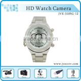 high-end hd watch camera jve-3105g-12,video resolution 1280*720,max 32gb, mini camcorder camera.