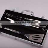 Supreme Products Stainless Steel Grilling Set - Features a Spatula, Tongs and Fork - Perfect for the Grill, BBQ