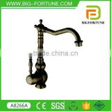 Most popular single Handle Antique black brass basin faucet of manufactuer