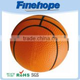 Soft pu basketball stress ball gifts customized logo promotional goods