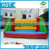 High Quality 0.55mm PVC inflatable boxing ring, Inflatable Gladiator Joust Game Playground for Adult