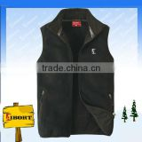 SVZ-9-2 sleeveless micro polar fleece vest for men