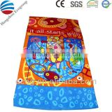 Customized cotton sports beach towel pareo