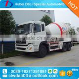 12 cbm LHD/RHD 6X4 self loading concrete mixer/shaft concrete mixer/truck concrete mixer