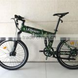 36v 10ah 250w disc brake fodable ebike, aluminum electric bicycle