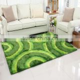High Quality Sleeping Custom Bamboo Handmade Silk Rug