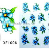 2016 newest XF series water nail art sticker transfer printing water decals nail art decoration                                                                         Quality Choice