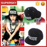 A-1397 New fashion cheap flat brim snapback cap hip hop snapback sports hat 3D embroidery custom snapback cap