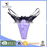 2015 Latest Sexy Slit G-String Thongs Children Underwear