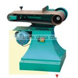 Wide double belt sander machine for wood