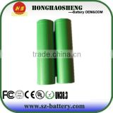 China 3.7V rechargeable round 18650 1600mAh lithium battery US18650VTC3 30A continuous discharge for Sony Battery
