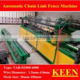 wire braiding machine/Good operating efficiency and high quality of the chain link fence machine