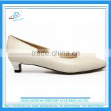 Grace lady office shoes top leather women leather dress shoes women low heel formal shoes