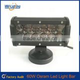 waterproof led grow light bar 7inch osram 4D off road led light bar