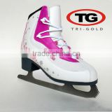 Hot selling PU custom logo wholesale cheap ice skates for figure skating