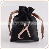 Stain hair extension packaging bag with logo printing                                                                         Quality Choice