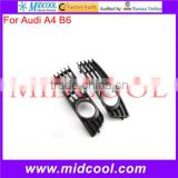 High Quality Front fog lamps grille For Audi A4