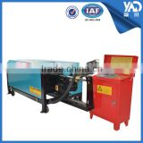 GT4-14 7.5kw electric automatic hydraulic rebar automatic steel wire straightening and cutting machine with track frame