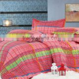 100% polyester microfiber mattress bedding set/bed cover hometextile fabric of flower design
