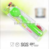 FDA cerificate full plastic ice cream spoon in Yangjiang