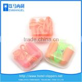 Box packaging PU or silicone motorcycle ear plugs